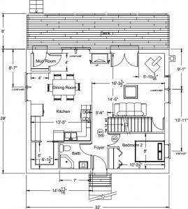 House plans, v.2: first floor